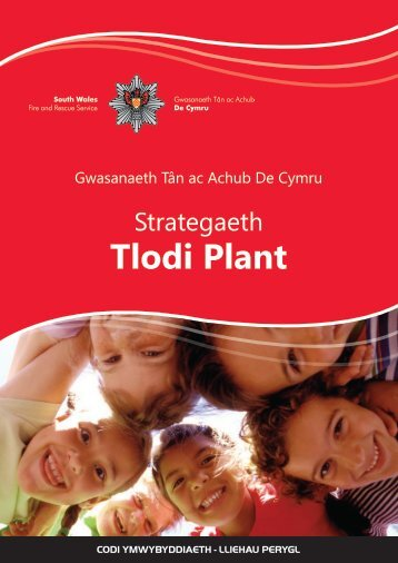 Strategaeth Tlodi Plant - South Wales Fire and Rescue Service