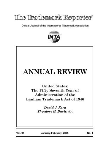 annual review - Oblon Spivak McClelland Maier and Neustadt, LLP