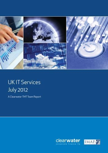UK IT Services Report 2012 - Clearwater Corporate Finance
