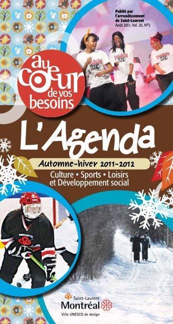 Culture • Sports • Loisirs et Développement social - Ville de Montréal