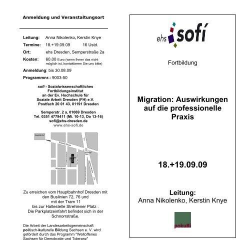 Anmeldung und Veranstaltungsort - Landesarbeitsgemeinschaft ...
