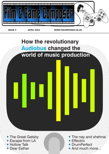 FANDGCOMPOSER ISSUE 3 APRIL 2014