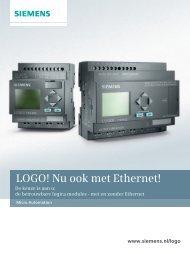 LOGO! Nu ook met Ethernet! - Industry - Siemens Nederland