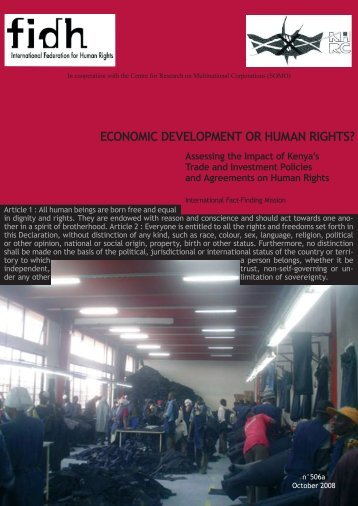 FIDH - Office of the High Commissioner on Human Rights