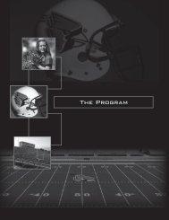 The Program - Ball State Athletics