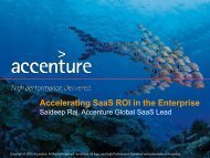 Accelerating SaaS ROI in the Enterprise