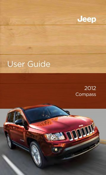 2012 Jeep Compass User Guide
