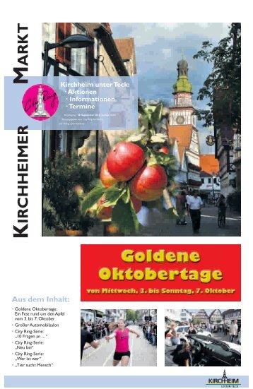 Goldene Oktobertage - City Ring