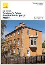 Spotlight Scotland's Prime Residential Property Market - Savills