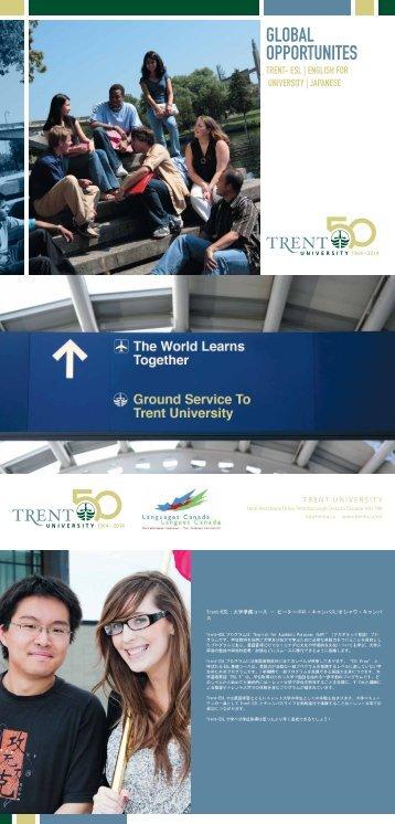 GLOBAL OPPORTUNITES - Trent University