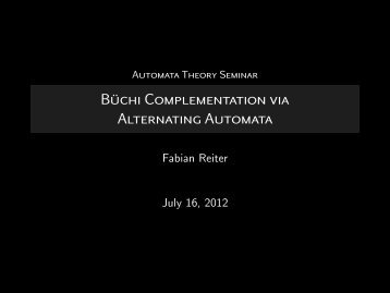 Büchi Complementation via Alternating Automata