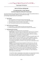 Referat af Ordinært afdelingsmøde 20. september 2012, kl ... - Domea