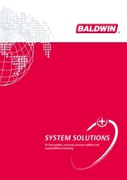 SYSTEM SOLUTIONS - Baldwin Technology Company, Inc.