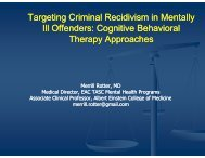 Cognitive Behavioral Therapy Approaches - New York State Office ...