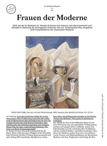 Frauen der Moderne - Art Salzburg
