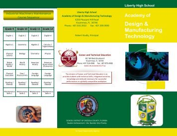 Academy of Design & Manufacturing Technology - Liberty High School