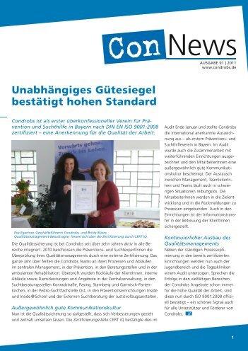 Ausgabe 1/2011 - Condrobs e.v.
