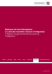 Rhénanie-Du-Nord-Westphalie - Ministerium für Arbeit, Integration ...