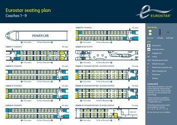 Eurostar Seat Map Eurostar seat mapx.pdf   Rail Europe Eurostar Seat Map