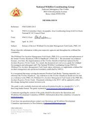 Download - National Wildfire Coordinating Group