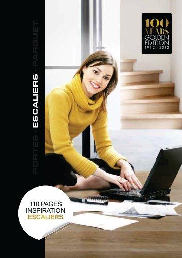 Catalogue escaliers sur mesure - CVLgroupe