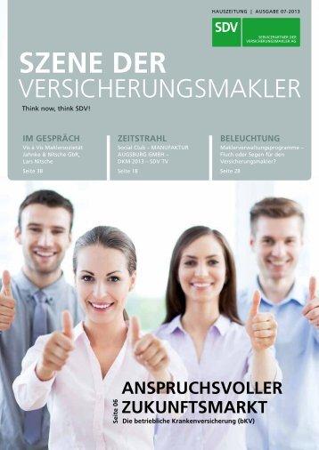 PDF öffnen - SDV AG