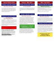 Programm 1-2014 hier zum Download - club kölner filmer, startseite