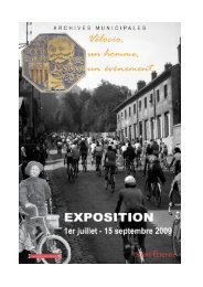 Téléchargez le dossier de presse - Archives municipales de Saint ...