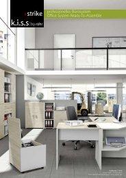 strike professionelles Bürosystem Office System Ready ... - kiss by röhr