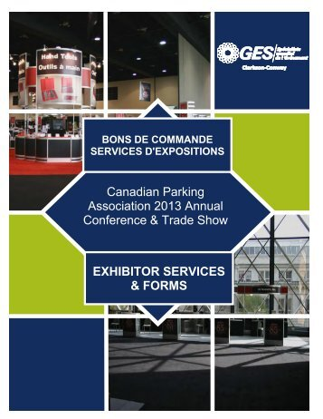 Canadian Parking Association 2013 Annual Conference & Trade ...