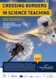 CROSSING BORDERS IN SCIENCE TEACHING