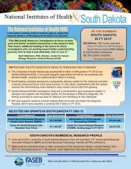 South Dakota and the Value of NIH Funding