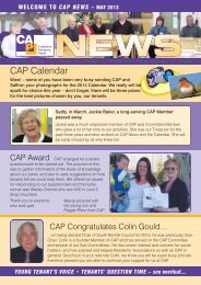 CAP News - May 2013 - Saffron Housing