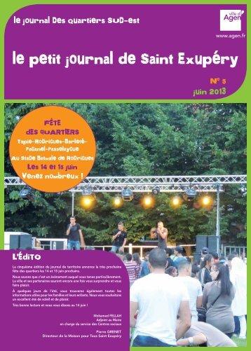 Télécharger le journal (pdf - 1 Mo) - Ville d'Agen