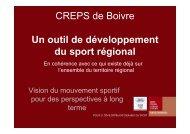 Vision CROS sur CREPS - CROS de Poitou-Charentes
