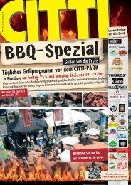 Tägliches Grillprogramm vor dem CITTI-PARK in ... - CITTI-Markt