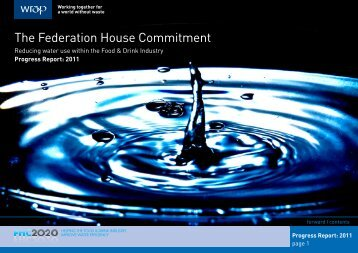 FHC Annual Report 2011 - Federation House Commitment