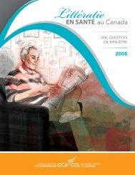 Littératie en santé au Canada - Base de données en alphabétisation ...