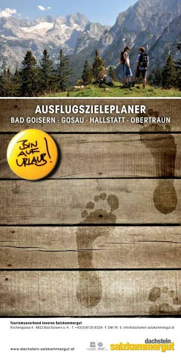 AUSFLUGSZIELEPLANER - Download brochures from Austria