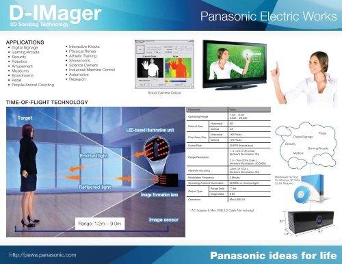 Panasonic D-Imager Spec Sheet - Inition