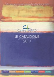 Télécharger le catalogue - Centre Inffo