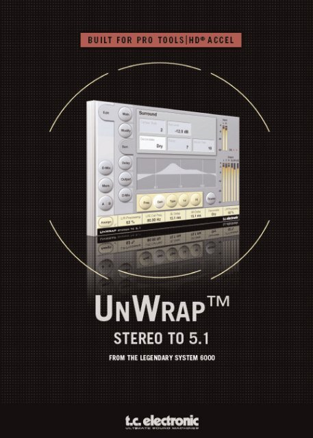 Unwrap TDM Manual - Web - TC Electronic