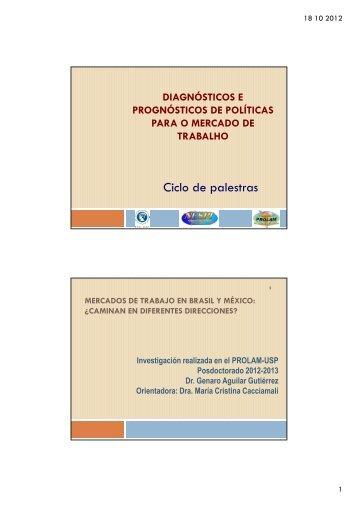 (Microsoft PowerPoint - SEMIN\301RIO GERAL - GENARO ... - USP