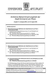 Amtsblatt 15 2008 - Emmerich