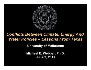 Webber Energy Water Climate Melbourne 2 June 2011.pptx