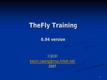 TheFly Training - Computer Graphics Laboratory