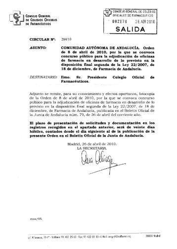 Untitled - Colegio Oficial de Farmacéuticos de la Región de Murcia