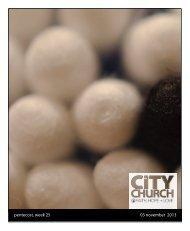 Download Worship Bulletin - CityChurch