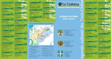 Agenda culturel Février à mai 2011 [534 Ko] - Chêne-Bougeries