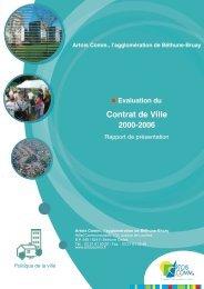 Document d'évaluation - SIG Politique de la Ville